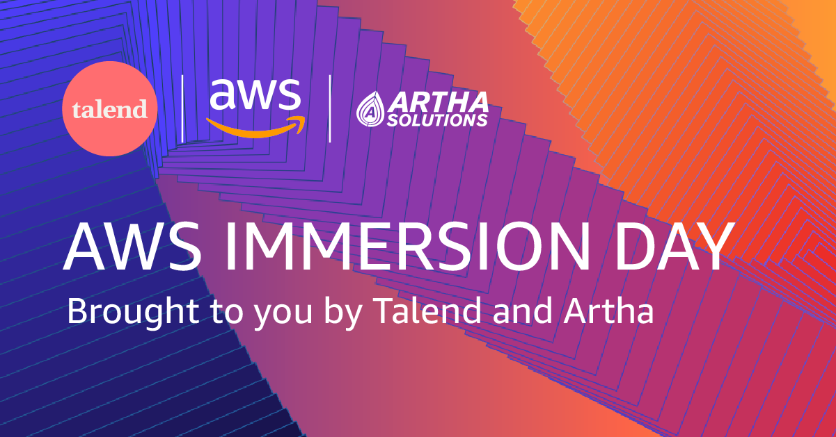 Talend AWS ARTHA Data Migration and Governance AWS Immersion Day