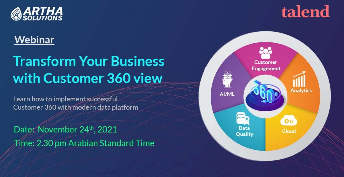 Artha Solutions - webinar - customer 360